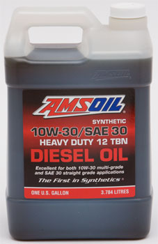 Synthetic SAE 10W-30/ SAE 30 Heavy-Duty Motor Oil
